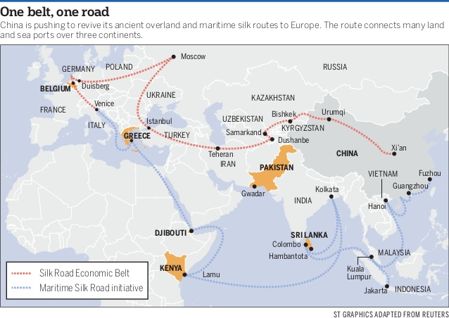 China S One Belt One Road Initiative What It Is And How Will It Affect You Fao Global